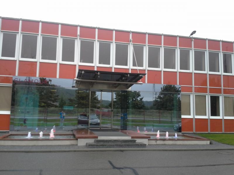 Plochá střecha Brno - Správní budova, zateplení a hydroizolace