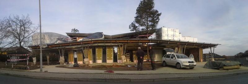 VILA Karviná, Zateplení a izolace střechy