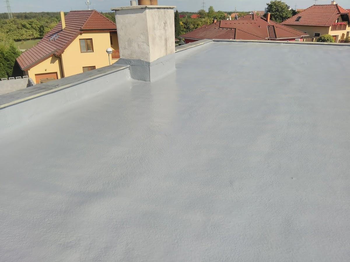 Zateplení střechy  - RD Valtice