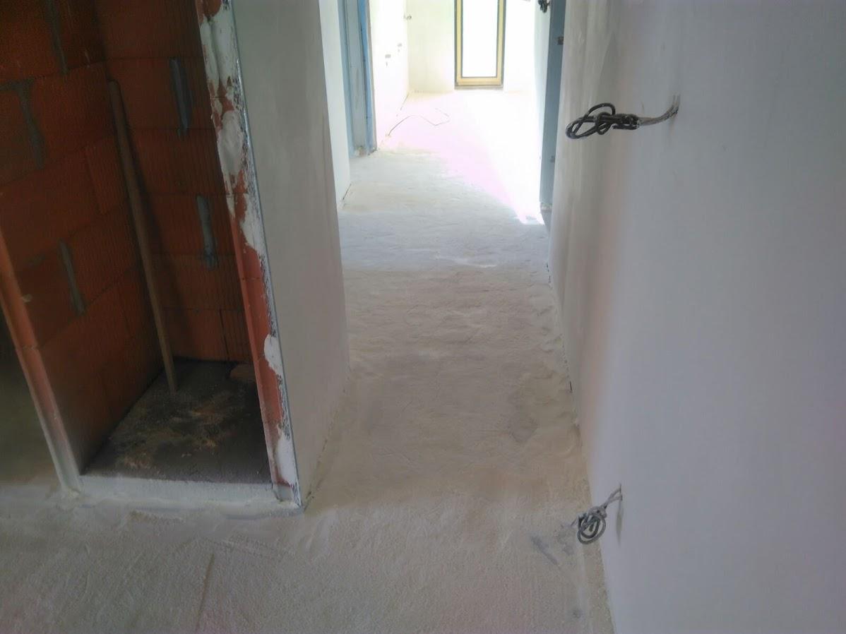 Polotvrdá pěnová izolace, pod podlahové topení