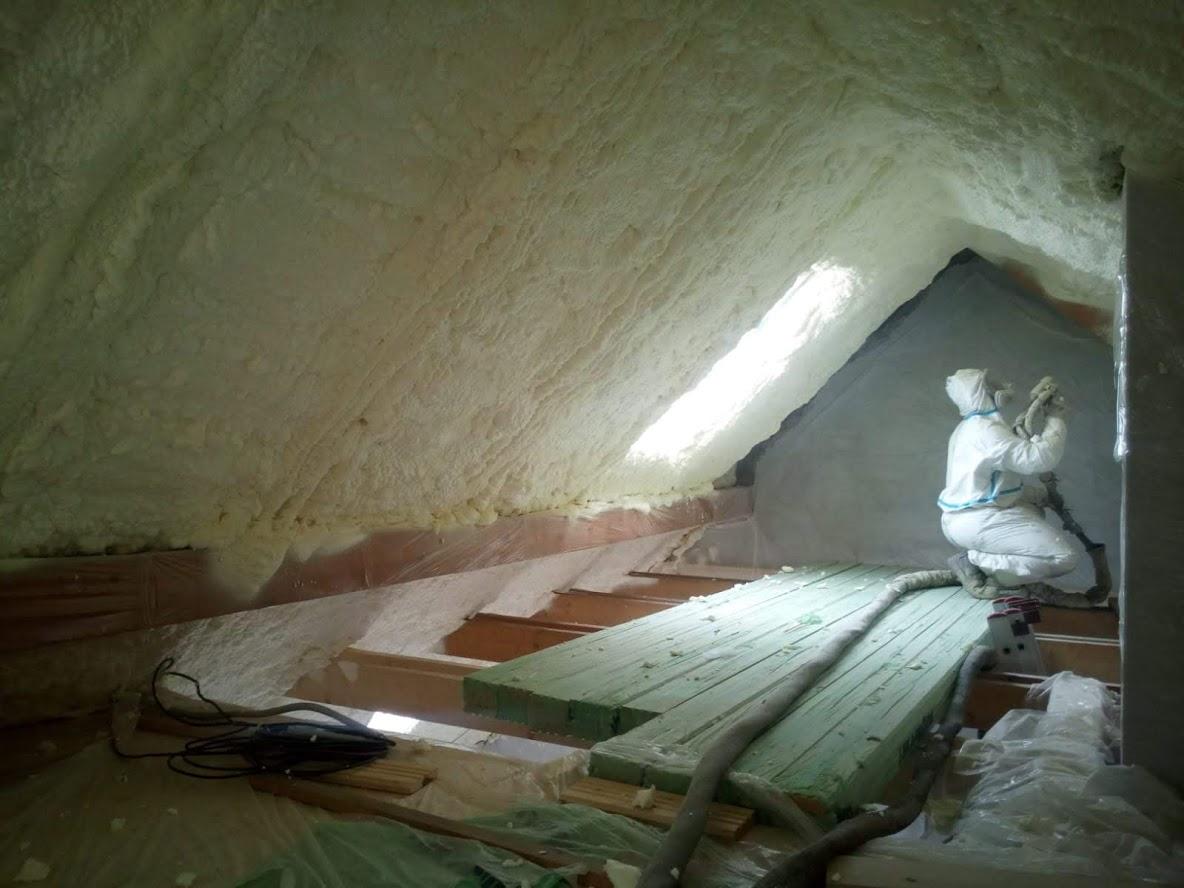Kompletní zateplení střechy RD