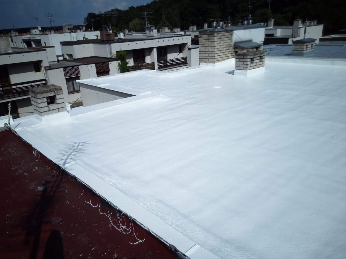 Renovace ploché střechy, podklad IPA