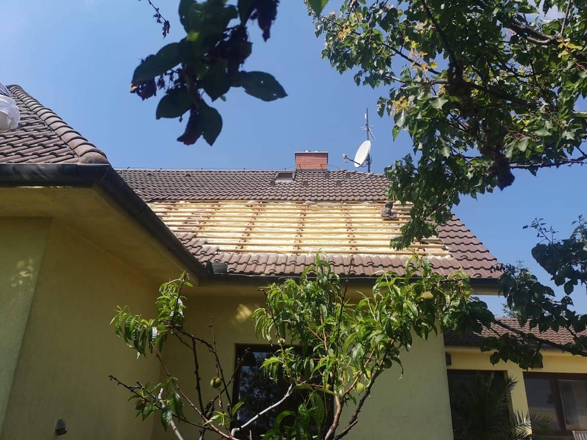 Zateplení šikmé střechy