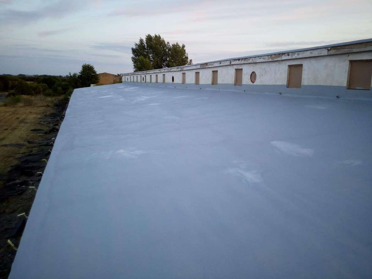 Izolace ploché střechy z venku