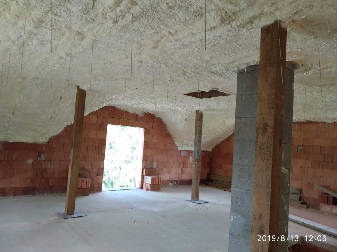 Rychlé a kvalitní zateplení stropu