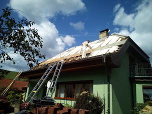 Zateplení střechy s odstraněním střešní krytiny
