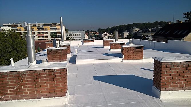 Zateplení a izolace ploché střechy