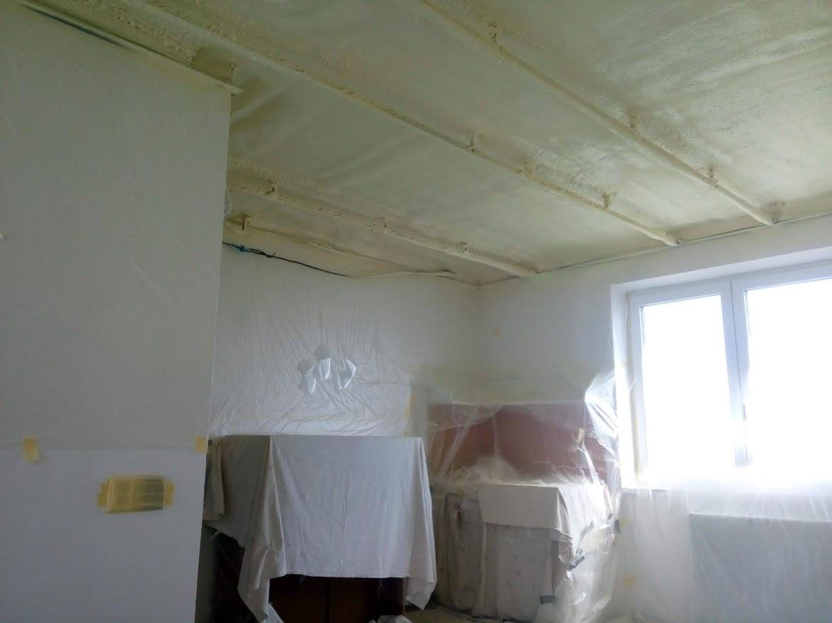 Tepelná izolace stropu v RD